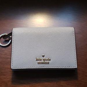 NWOT kate spade wallet with key ring